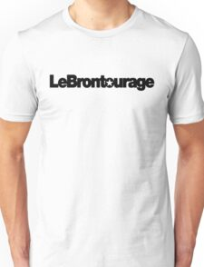 LeBrontourage│Black Unisex T-Shirt