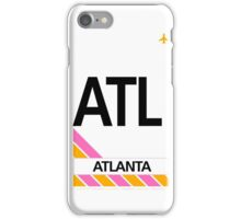 Atlanta ATL iPhone Case/Skin