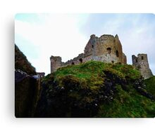 Dunluce Castle 2012/13 Canvas Print