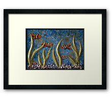Tranquil Aquarium Framed Print