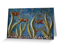 Tranquil Aquarium Greeting Card