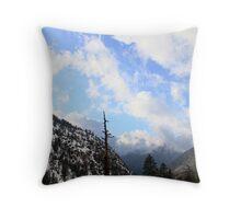 Icehouse Canyon Throw Pillow