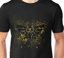 Triforce paint splatters Unisex T-Shirt