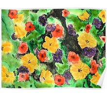 Flowering Wall Poster