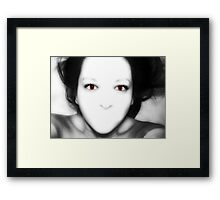 Silent Scream Framed Print