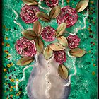 Christmas Vase by Julie Merrett