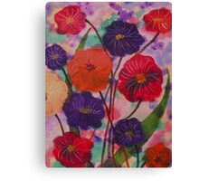Mixed Blooms Canvas Print