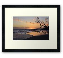 kingscliff beach sunrise ... Framed Print