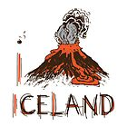 I LOVE ICELAND T-shirt by ethnographics