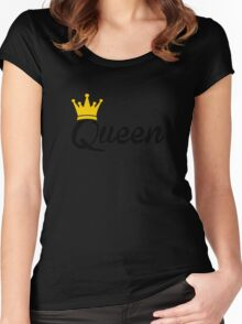 Queen Women's Fitted Scoop T-Shirt
