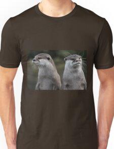 Compare the otters, dot com. Unisex T-Shirt
