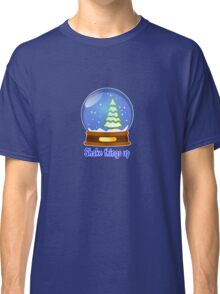 shake things up White Christmas Globe  Classic T-Shirt