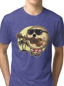 Hawaiian Pizza Tri-blend T-Shirt