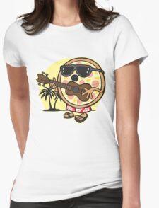 Hawaiian Pizza Womens Fitted T-Shirt
