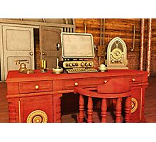 Steampunk Office Photographic Print