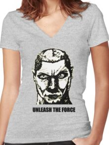 Star Wars - Unleash the Force Women's Fitted V-Neck T-Shirt
