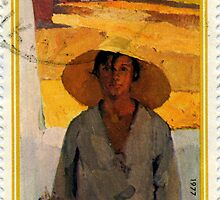 Man with Straw Hat by GysWorks