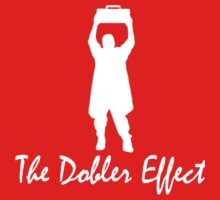 The Dobler Effect white Kids Tee
