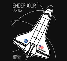 Space Shuttle Endeavour Unisex T-Shirt