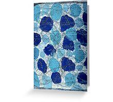 BLUE SUGAR COOKIES Greeting Card
