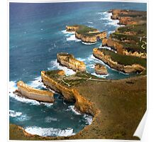 The 12 Apostles Port Campbell Poster