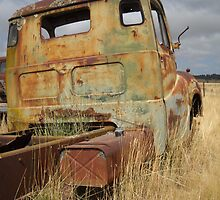 Old truck in roadside paddock - Yarra, NSW by DashTravels