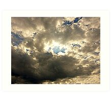 The Sheltering Sky Art Print