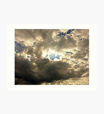 The Sheltering Sky Art Print