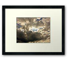 The Sheltering Sky Framed Print