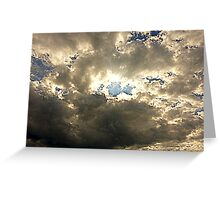 The Sheltering Sky Greeting Card