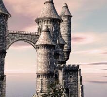 Fantasy Castle on The Sea Sticker