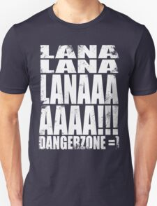 Archer - DANGER ZONE Quote -WHITE T-Shirt