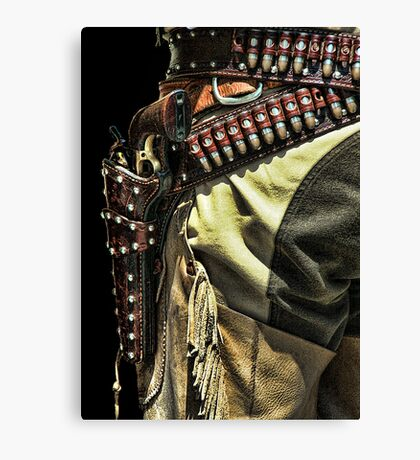 Gunfighter  Canvas Print