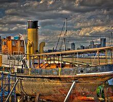 Steam Ship Wattle by Michael Sanders