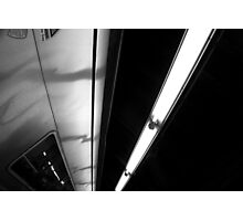 Train. Lights. Photographic Print