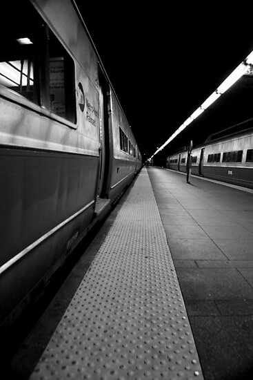 Train Platform by Amanda Vontobel Photography/Random Fandom Stuff