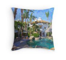 Cabo Pool Throw Pillow