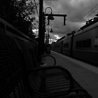 Train Platform - Northbound by Amanda Vontobel Photography