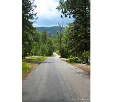 mountain road Photographic Print