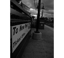 To New York Photographic Print