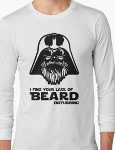 Bearded Vader Long Sleeve T-Shirt