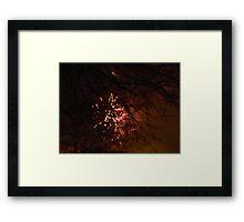 New Year's Eve FIreworks Framed Print