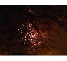 New Year's Eve FIreworks Photographic Print