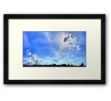 ©HCS Sun Tower XIII Framed Print