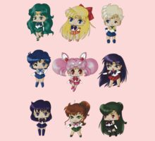Chibi Sailor Scouts Kids Clothes