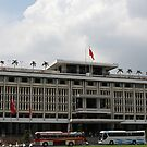 Vietnam's Reunificaton Palace in Ho Chi Minh city. by geof