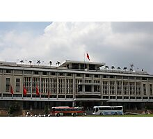 Vietnam's Reunificaton Palace in Ho Chi Minh city. Photographic Print