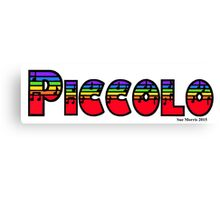 Piccolo Rainbow Canvas Print