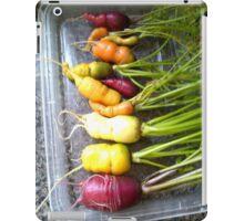 rainbow carrots iPad Case/Skin