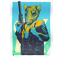 Hotline Miami Richter Poster
